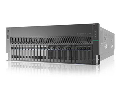 曙光天阔I840-C30服务器(8盘位,渠道机) XEON 5118*2 /散热片*2 /DDR4  16G*2 /竖插08盘12G SAS硬盘背板 /MiniSASHD线缆*2 /550W电源模块*3 /超薄DVD-RW /滑轨 /150cm 国标电源线*3 /板载双口千兆RJ45网卡、双口万兆SFP+光纤网卡 /USB2.0&VGA组件 /LCD显示模块/曙光2GB缓存RAID卡