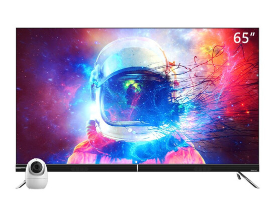 長虹65D8P PRO 全生態極智屏  65英寸3+32GB AIoT智慧物聯 AI攝像頭視頻通話 4K杜比視界 遠場語音 教育電視