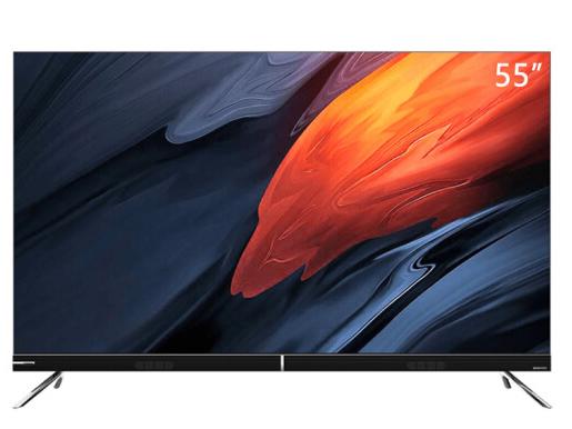 長虹55D8P 55英寸AI聲控超薄智慧屏 4K超高清 3+32GB 智能音箱 杜比視界 教育電視 平板液晶電視機