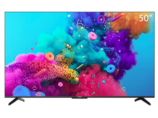 長虹 50D5P 50英寸智慧屏教育電視 AI聲控 遠場語音 2+16GB 4K超高清 超薄全面屏 平板液晶電視機