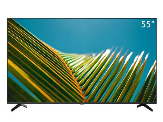 長虹 55D4P 55英寸超薄無邊全面屏 4K超高清 手機投屏 智能網絡 教育電視 平板液晶電視機