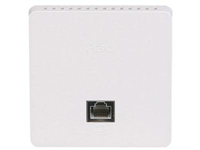 H3C WAP622H面板式802.11ac Wave2无线接入设备 尺寸  86mm×86mm×35mm(墙外厚度11.6mm)  固定端口  正面:  1个10/100/1000Mbps 自协商以太网口  背面:  1个10/100/1000Mbps 自协商以太网口上行口(PoE受电)