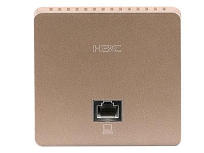 H3C WAP611H面板式无线接入设备 尺寸(不包含天线接口和附件)  86mmx86mmx35mm(墙外厚度11.6mm)  固定端口  正面:  1个10/100Mbps 自协商以太网口  背面:  1个10/100Mbps 自协商以太网口上行口(PoE受电)