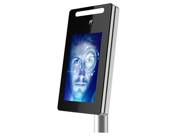 郑州AKT-6024A室外防水人脸识别机 平板款,工地人脸机适用于人行闸机和小区人脸识别系统