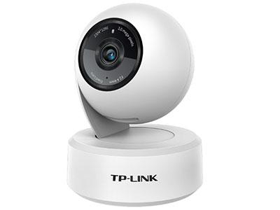 TPLINK  TL-IPC43AN-4(墨黑/霜白两色可选 )  支持水平、垂直方向云台转动,水平总视角360°;网口/WIFI可选;支持双向语音,报警推送,移动跟踪,主动防御;移动侦测录像;Micro SD卡存储;支持手机、PC等多台设备多平台同时查看监控