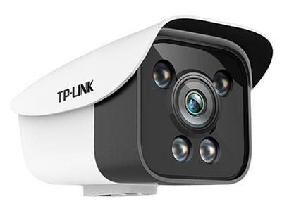 """TPLINK   TL-IPC528KCP-WD4/6 """"200万星光全彩网络摄像机;支持POE供电 内置四颗大功率白光灯,在无光环境下提供光源,无惧光线变化,24小时全彩不间断 支持移动侦测录像 支持智能周边防范,包括越界侦测和区域入侵"""""""