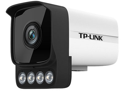 """TPLINK  TL-IPC544HP-W4/W6 """"400万全彩IPC,镜头焦距4mm/6mm可选,红外50米 外置四颗大功率白光灯,避免发蒙、蚊虫现象,24小时全彩不间断 支持智能周界防范,包括越界侦测和区域入侵"""""""