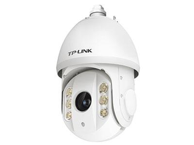 TP-LINK  TL-IPC7520-DC 500W像素;360°全向监控;高速云台,支持300个预置点,8条巡航路径,4条花样扫描;20倍光学变倍,64倍数字变倍;星光夜视,夜视距离可达150m;IP66防尘放水;最大支持128G内存卡存储