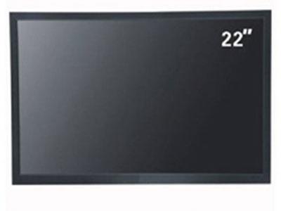 """清视界22寸""""面板类型  TFT LCD真彩液晶屏   面板尺寸  22寸  显示模式  16:9                亮度 350cd/㎡ 对比度    800:1              响应时间  6ms 分 辨 率 1920*1080       可视角度  178°/158° 使用寿命  60000小时 菜单语言  English 中文;(需多种语言可选) 面板控制  按键      接口: VGA 接口  HDMI 接口  BNC接口 外壳类型  五金外壳 嵌入式、壁挂式、吊装式 、台式  内置音频的"""""""