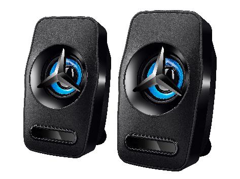 楷森力 L-3030 七彩灯  USB 2.0音箱 功能: AUX                                                                                                                                       电源供电:USB  DC5V                                                                     输出效率:3W*2