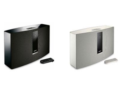 "Bose SoundTouch 30 III 无线音乐系统蓝牙音箱 内置 Wifi,支持 AirPlay 功能 应用 Bose 专利""音频导波管""扬声器技术"