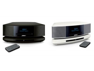 Bose SoundTouch 妙韵音 乐系统IV 1、为所有音乐提供自然逼真的音质包括无 线音乐; 2、适用于CD播放器和AM/FM 无线谐波器; 3、Wave的音质一切源自简单易用、全新设 计的音乐系统; 4、与您家庭WiFi网络和蓝牙设备配合使 用,几乎可以播放您能想象的一切
