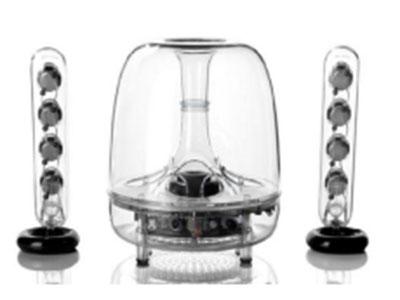 SoundSticks BT 无线水晶 蓝牙,家用桌面,电脑