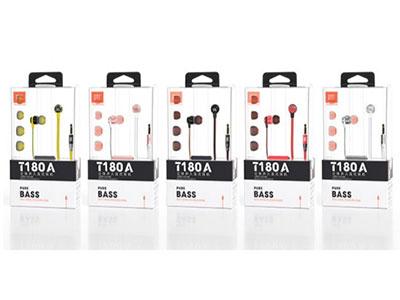 JBL T180A 立 体声入耳式耳机 AUX 3.5苹果、安卓通用