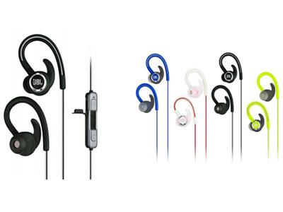 JBL Reflect Contour2.0 蓝 牙运动耳机 蓝牙,耳挂,运动,反光线缆,10小时 续航,耳挂式设计,稳固佩戴