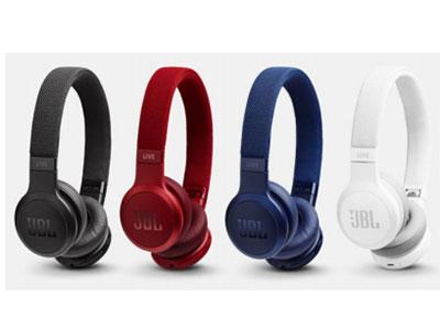 JBL LIVE 400BT 智能语 音AI无线蓝牙 耳机 智能降噪,腾讯云小微耳机,AI人工智 能,语音点播,企鹅FM