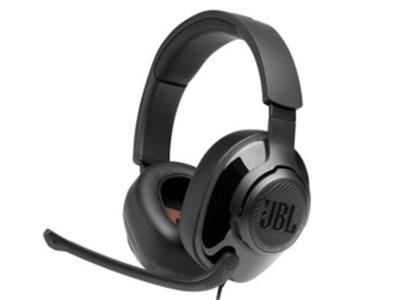 JBL QUANTUM 200 JBL Quantum SOUND标志性游戏音效, 虚拟7.1 有线,电脑带麦耳机,游戏电竞耳机 语音增强型麦克风,抬起静音 50mm订制驱动单元 跨平台多系统兼容,3.5mm接口 附送1.5米Y形分线器,手机、平板、笔 记本、台式机通吃