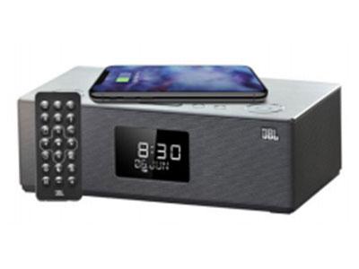 JBL DCS5500 组合桌面音响 蓝牙,手机,插卡,U盘,闹钟,无线充 电