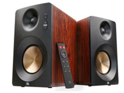 JBL CM220 高保真有源监听书架音响 蓝牙,遥控器,USB