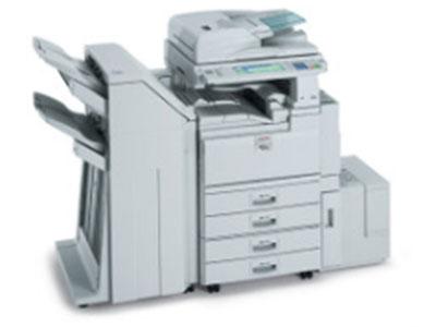 理光5001 数码复合机  颜色类型 黑白   涵盖功能 复印/打印   速度类型 中速   最大原稿尺寸  A3   内存容量 标准:512MB+40GB