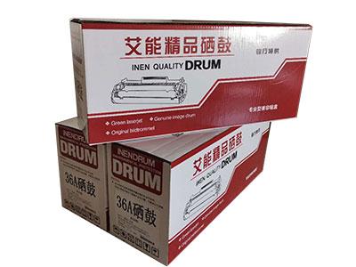艾能适用HP惠普CB436A硒鼓 M1120N M1522NF P1505N HP36A硒鼓易加粉M1120n硒鼓M1120MFP P1055佳能3250墨盒