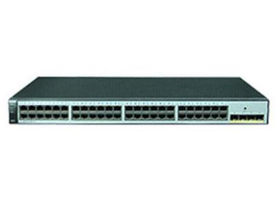 华为   S1720-52GWR-4P 企业二层48口千兆网络监控交换机web网管