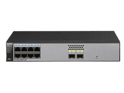 华为  S1720-10GF-2P 8个千兆电+2个千兆光WEB网管交换机