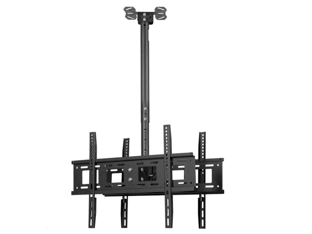 科鸥KO-T490D 双面电视吊架 适用:32-55寸  最大孔距:490*450mm  材质:冷轧钢材 高度:460*960mm