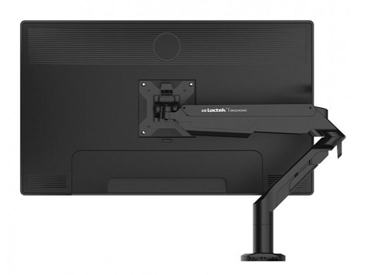 乐歌A8 显示器支架,适用尺寸17-36寸,航空铝材加工程塑料,二代气压弹簧,上下左右360度旋转,安装方法穿孔+加式,承重3-12KG