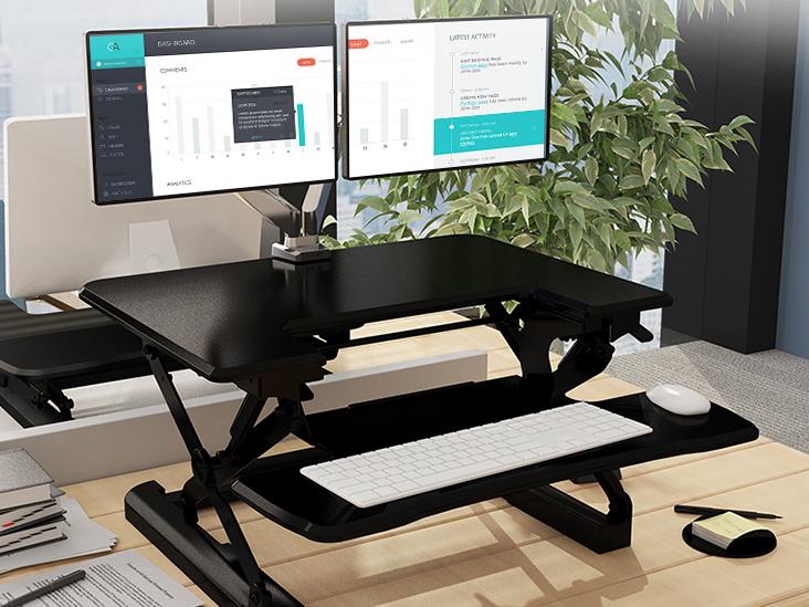 乐歌M9S乐歌坐站交替工作台,台面尺寸690*500mm,冷轧钢板+进口ABS,承重15kg,高度调节150~455mm