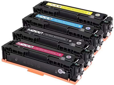 艾能适用惠普M154a硒鼓 M181/181fw M180/180N CF510A 204A 墨盒 易加粉 LaserJet Pro MFP 彩色激光打印机