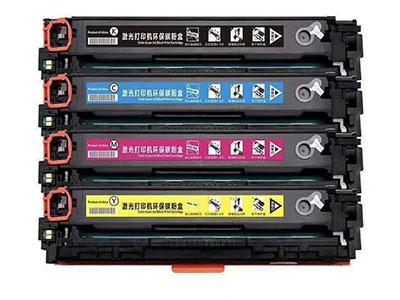 艾能适用HP惠普CF410A硒鼓M452dw/dn/nw打印机M477fdw/fnw粉盒M377dw易加粉墨盒Color LaserJet Pro一体机MFP晒鼓