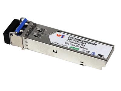 源拓  WT-SFP+-6G-15公里 l带LC连接器的SFP+封装  l1310 nm DFB激光器与PIN光电探测器  l在SMF上传输15公里  l功耗