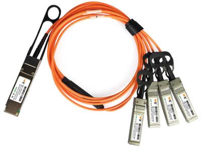 源拓   QSFP+到4 SFP+AOC  AOC有源光缆   符合40 GBASE-SR4和XLPPIIEEE802.3ba-2010规范及其支持40g-IB-QDR/20g-IB-DDR/10G-IB-SDR应用程序  l 符合行业标准sff-8436QSFP+规范  l 功率等级1:最大功率