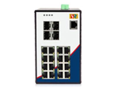 源拓  RS6020-4GF16T  16+4G千兆网管型导轨式工业交换机