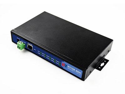 源拓  NT708-8DH  8路复合型串口服务器