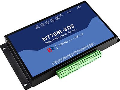 源拓 NT708I-8DS  8路增强型串口服务器