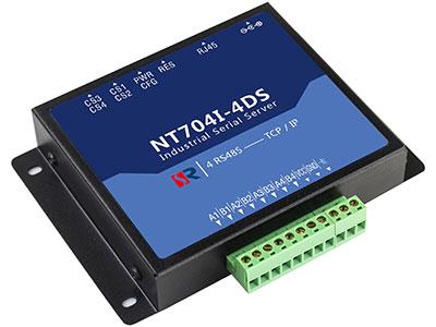 源拓  NT704I-4DS  4路增强型串口服务器