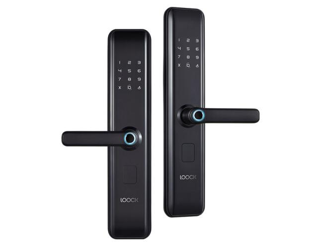 鹿客智能门锁 K1 锁体内置离合/独立反锁旋钮/自带门铃设备