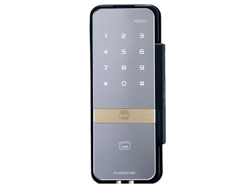 耶鲁电子锁 YDG313 触屏式密码 智能卡