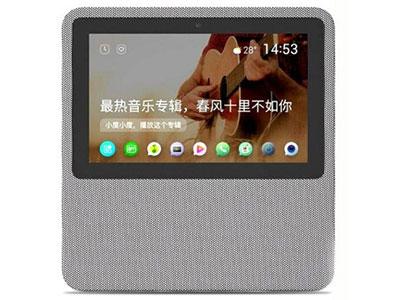 小度 在家1C智能屏音箱百度AI智能音箱语音遥控无线wifi网络蓝牙音响闹钟视频通话小杜触屏播放器