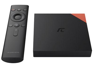 创维小湃盒子Max 智能网络电视机顶盒 4K高清 2G内存32G闪存双频无线wifi蓝牙语音