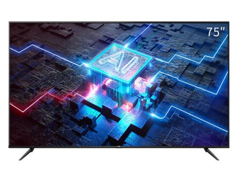 TCL 75F8A 75英寸液晶平板电视 4K超高清护眼 人工智能 全面屏 超薄教育电视