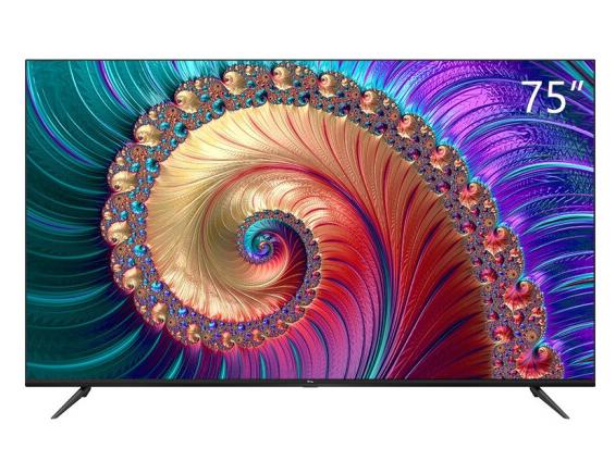 TCL 75L8 75英寸液晶平板电视 4K超高清HDR 智能网络WiFi 超薄影视教育资源电视