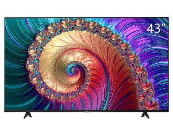 TCL 43L8 43英寸液晶平板电视 4K超高清HDR 智能网络WiFi 超薄影视教育资源电视