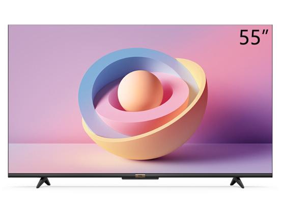 TCL 55V690 55英寸液晶平板电视机 4K超高清护眼 超薄全面屏 人工智能AI语音 智慧屏 教育电视