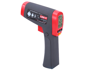 优利德红外线测温仪红外测温枪家用工业高精度非接触式温度测量仪 UT301C (-18℃~550℃)