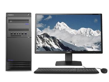 清华同方 超越E500-83540 台式机 I5-8400 Windows 10 家庭版 4G DDR4  1T SATA3