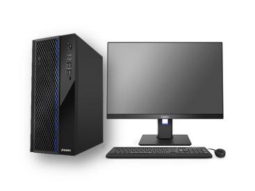 清华同方 超越E500-82153 台式机 I5-10400 Windows 10 家庭版 8G DDR4 2666 1T+256G 独立显卡 23.8英寸