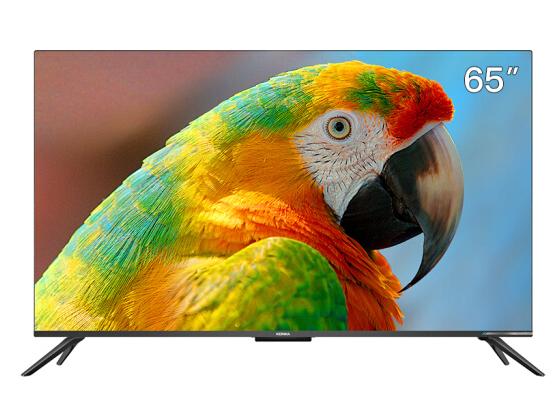 康佳(KONKA)65A9D 65英寸 4K超高清 全面屏 华为芯 超薄机身 2+32GB 远场语音智慧屏教育电视